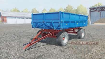 Fortschritt HL 80.11 rich electric blue для Farming Simulator 2013