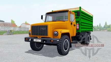 ГАЗ САЗ 35071 оранжевый jrhfc для Farming Simulator 2017