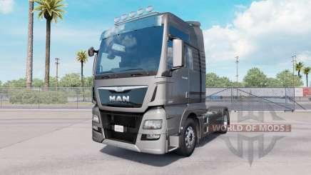 MAN TGX 18.640 XXL cab 2016 для American Truck Simulator