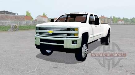 Chevrolet Silverado 3500 Crew Cab (GMTK2H) для Farming Simulator 2017