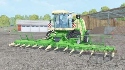 Krone BiG X 1100 lime green для Farming Simulator 2015