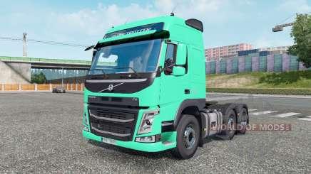 Volvo FM 500 6x2 Globetrotter cab 2013 для Euro Truck Simulator 2