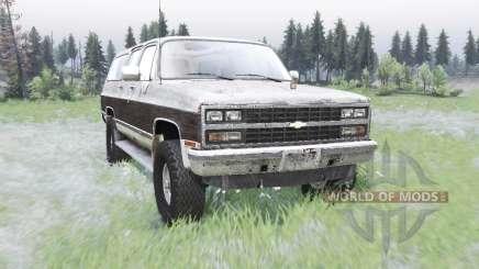 Chevrolet K1500 Suburban 1989 для Spin Tires