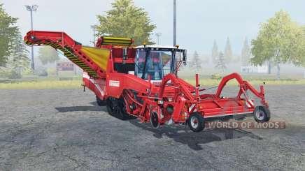 Grimme Tectron 415 carmine pink для Farming Simulator 2013