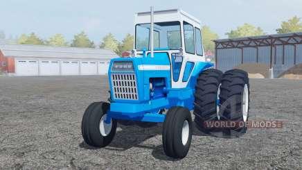 Ford 8000 pure cyan для Farming Simulator 2013