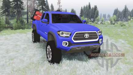 Toyota Tacoma TRD Off-Road Access Cab 2016 v1.2 для Spin Tires