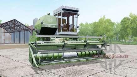 Енисей 1200-1М в цвет спаржи для Farming Simulator 2017