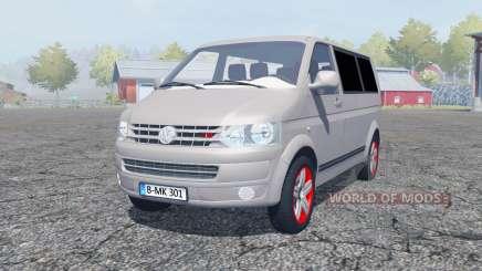 Volkswagen Caravelle TDI (T5) 2009 для Farming Simulator 2013