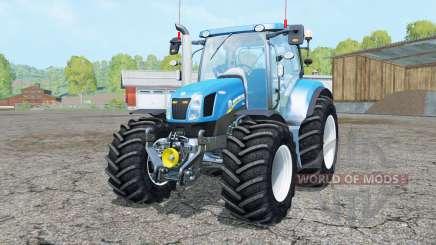 New Holland T6.160 added wheels для Farming Simulator 2015
