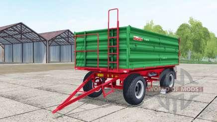 Warfama T-670 lime green для Farming Simulator 2017