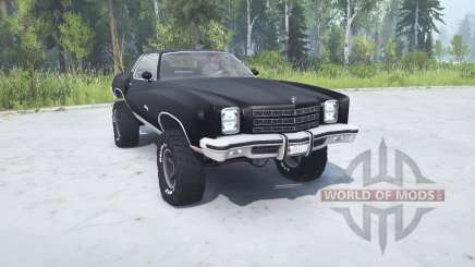 Chevrolet Monte Carlo 1977 lifted для MudRunner