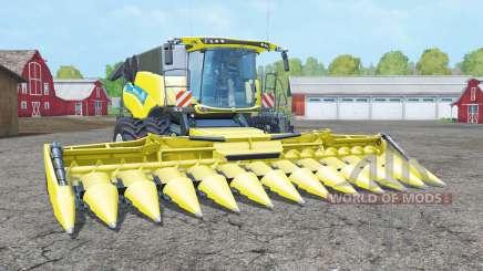 New Holland CR10.90 dual front wheels для Farming Simulator 2015