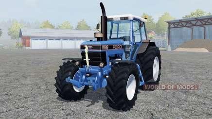 Ford 8630 Power Shift dark blue для Farming Simulator 2013