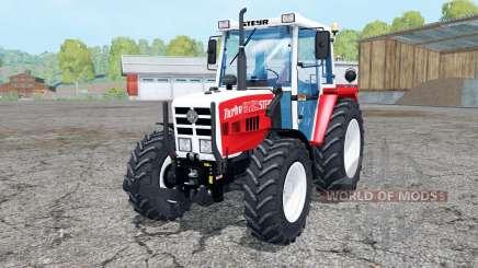 Steyr 8080A FLConsole для Farming Simulator 2015