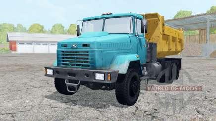 КрАЗ-6510 голубой окрас для Farming Simulator 2015