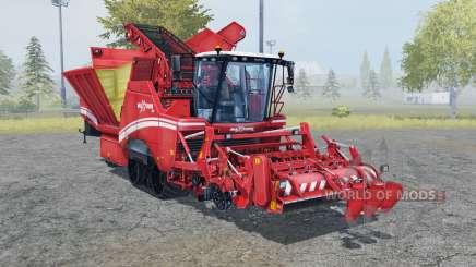 Grimme Maxtron 620 carmine pink для Farming Simulator 2013