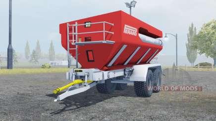 Perard Interbenne 25 bright red для Farming Simulator 2013