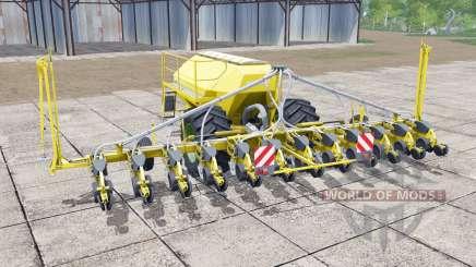 Horsch Maestro 12.75 SW vivid yellow для Farming Simulator 2017