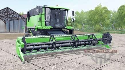 Deutz-Fahr 6095 HTS header trailer для Farming Simulator 2017