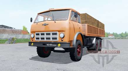 МАЗ-514 мягко-оранжевый окрас для Farming Simulator 2017
