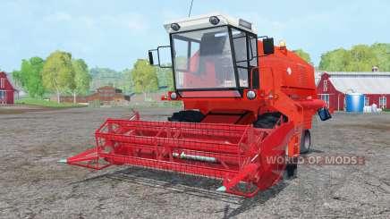 Bizon Z058 vivid red для Farming Simulator 2015