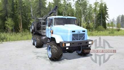 КрАЗ-6322 для MudRunner