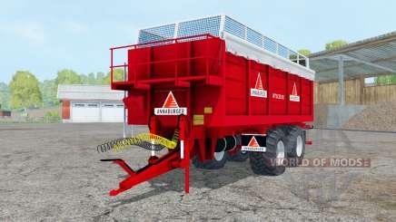 Annaburger HTS 22.12 pure red для Farming Simulator 2015