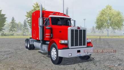 Peterbilt 378 Sleeper Cab v2.0 для Farming Simulator 2013