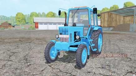 МТЗ-80 Беларус голубой окрас для Farming Simulator 2015