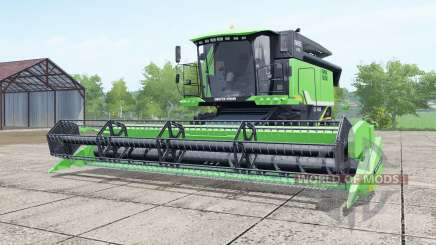 Deutz-Fahr 6095 HTS lime green для Farming Simulator 2017
