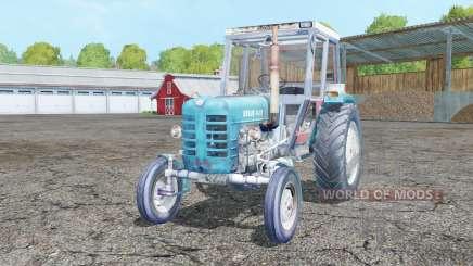 Ursus C-4011 real exhaust для Farming Simulator 2015