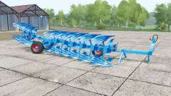 Lemken Titan 11 dynamic hoses для Farming Simulator 2017