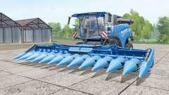 New Holland CR10.90 rich electric blue для Farming Simulator 2017