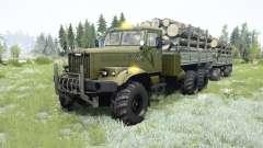 КрАЗ-255Б для MudRunner
