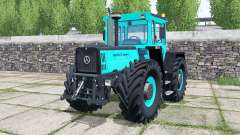 Mercedes-Benz Trac 1800 Intercooler turquoiʂe для Farming Simulator 2017