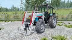 МТЗ-1221 Беларус с погрузчиком для Farming Simulator 2015