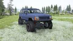 Jeep Cherokee (XJ) 1996 для MudRunner