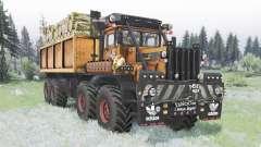 Кировец К-700А 8x8 кастомный для Spin Tires