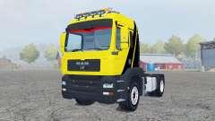 MAN TGM 4x4 tractor для Farming Simulator 2013