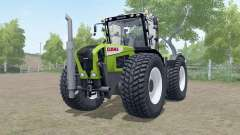 Claas Xerion 3000 Trac VC wheels selection для Farming Simulator 2017