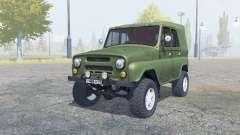 УАЗ-469 ручное зажигание для Farming Simulator 2013