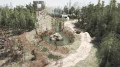 The Caves Trail Park для MudRunner