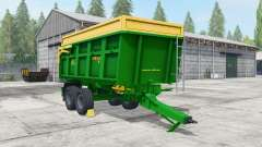 ZDT Mega 13 islamic green для Farming Simulator 2017