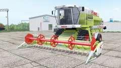 Claas Dominator 208 Mega and C 600 для Farming Simulator 2017