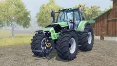 Deutz-Fahr 7250 TTV Agrotron added wheels для Farming Simulator 2013
