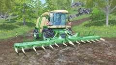 Krone BiG X 1100 animated joystick для Farming Simulator 2015