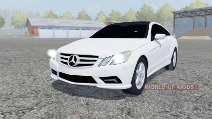 Mercedes-Benz E350 CDI (C207) 2009 для Farming Simulator 2013