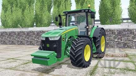 John Deere 8400R 2016 для Farming Simulator 2017