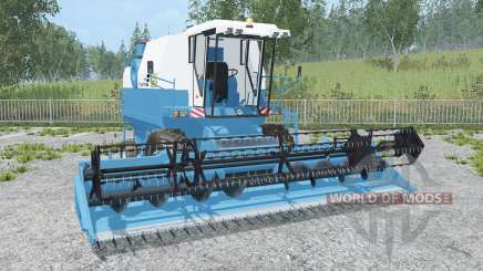 Fortschritt E 524 rich electric blue для Farming Simulator 2015
