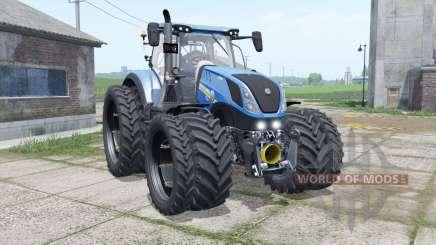 New Holland T7.315 narrow dual wheels для Farming Simulator 2017